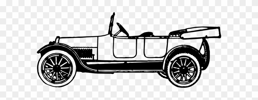 Image Of Classic Car Clipart 6687 Clip Art Clipartoons - Old Time Car Cartoon #12064