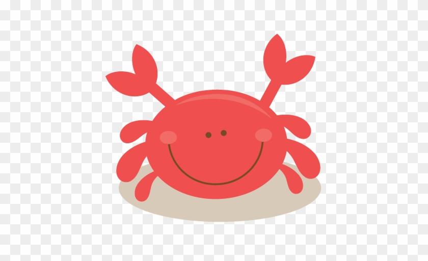 Ocean Clipart Crab - Miss Kate Cuttables Crab #12089