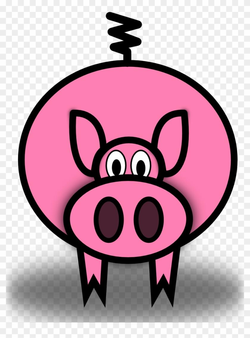 Pig Clip Art - Pig Clip Art #12091