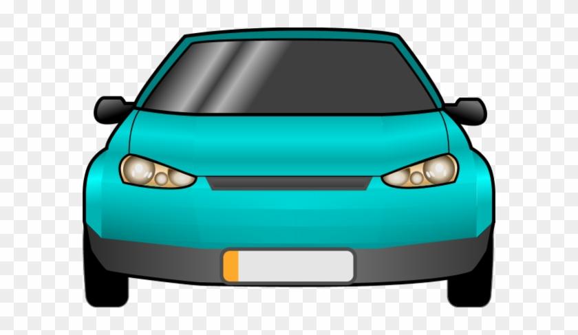 Car Clipart - Car Front Vector Png #12114
