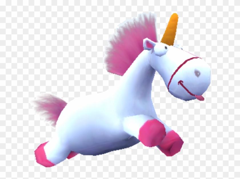 Despicable Me Unicorn Clipart - Minion Rush Fluffy Unicorn #12121