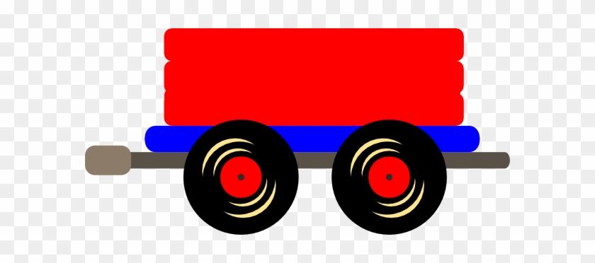 Caboose Loco Train Clip Art At Vector Clip Art - Train Cars Clip Art #12132
