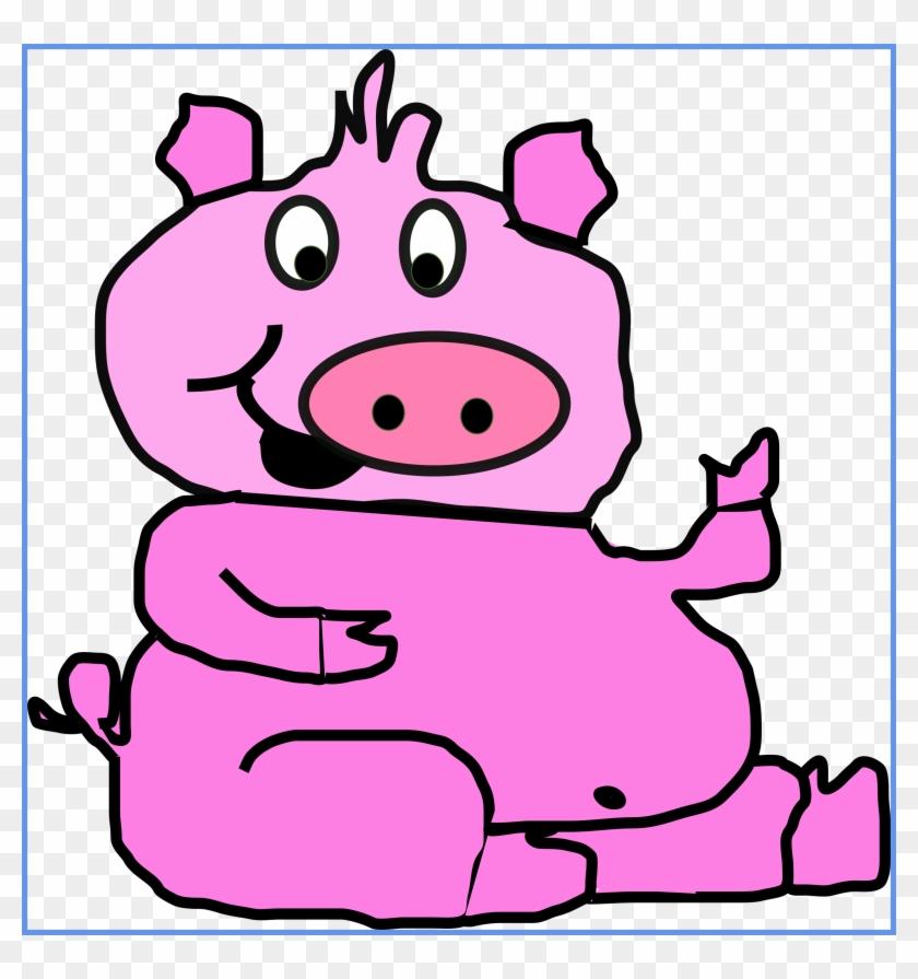 Pig Clip Art #12160