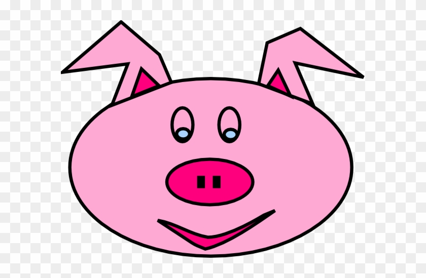 Pig Face With Mud Clipart Free Clip Art Images - Pig Clip Art #12169