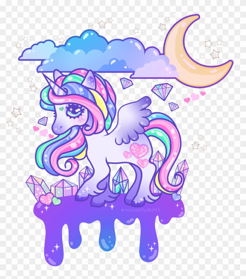 Art Illustrations - Fondos De Pantalla Kawaii De Unicornio #12205