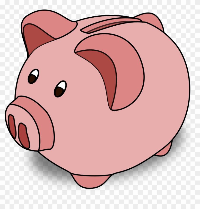 Punk Pig - Sparschwein Clipart #12222