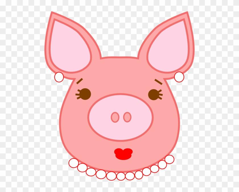 Pig Clip Art - Clip Art #12224
