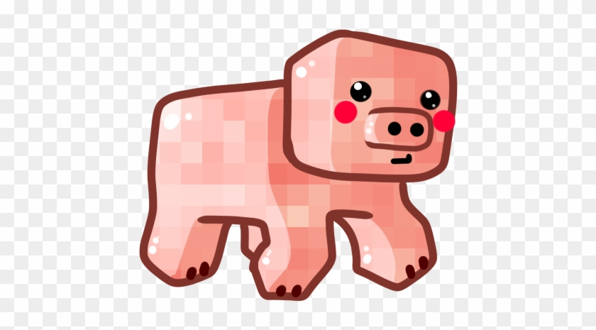 Chibi Pig By Ronindude On Deviantart - Minecraft Pig Chibi #12238