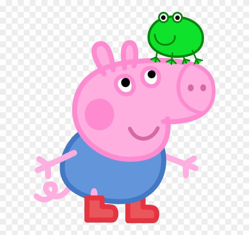 Princess Peppa Pig Clipart - George Peppa Pig Png #12244