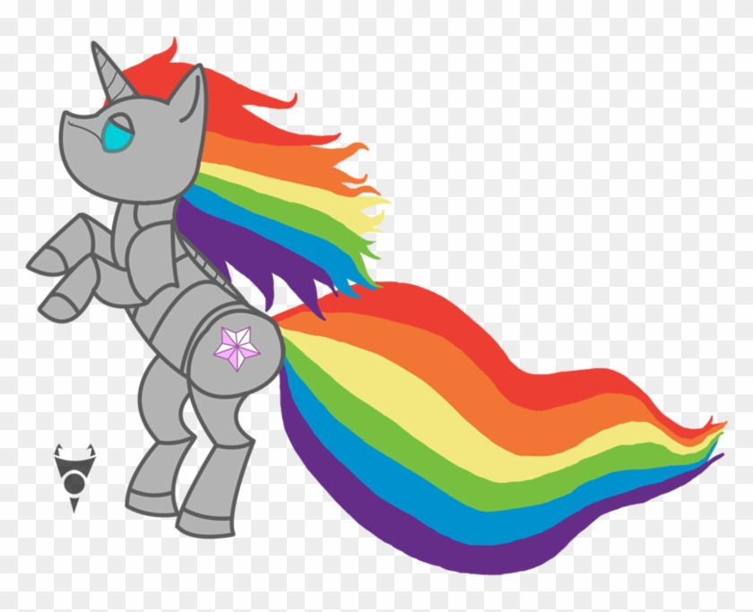 Robot Unicorn Pony By Tombstone On Clipart Library - Robot Unicorn Attack #12260