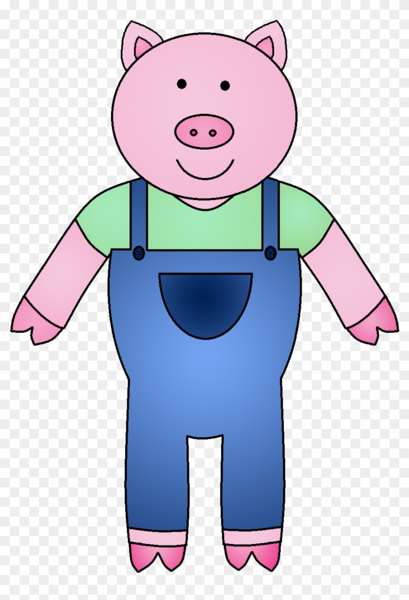 The Three Little Pigs Clipart - Three Little Pigs Pig #12314