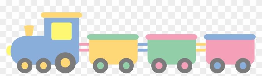 Train Baby Boy Clipart - Train Clipart #12327