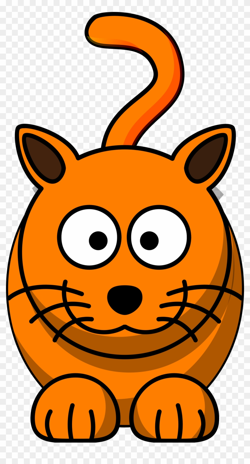 Clipart Cartoon Cats Cat - Cartoon Cat Clip Art #12323