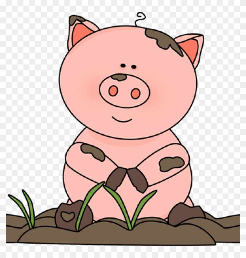 Free Pig Clipart Free Pig Clip Art From Mycutegraphics - Dirty And Clean Pig #12324