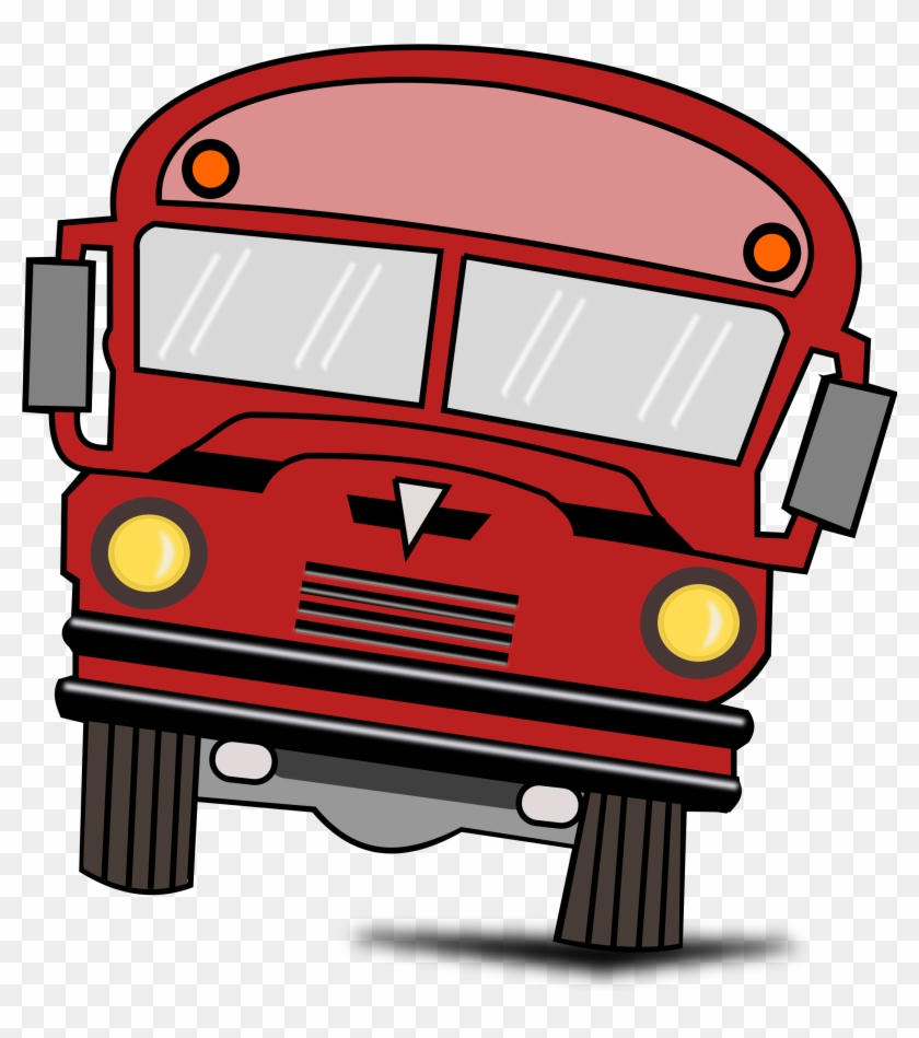 Cartoon Vintage Bus - Bus Cartoon Png #12345