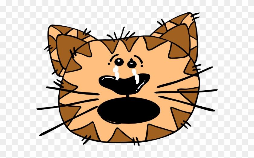 Cat Clip Art At Clker - Clip Art Sad Cat #12337