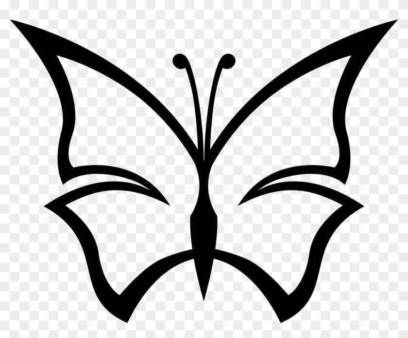Butterfly Vector Art - Butterfly Clip Art #12352