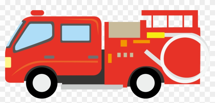 Fire Engine Png - Fire Engine Clipart Png #12354