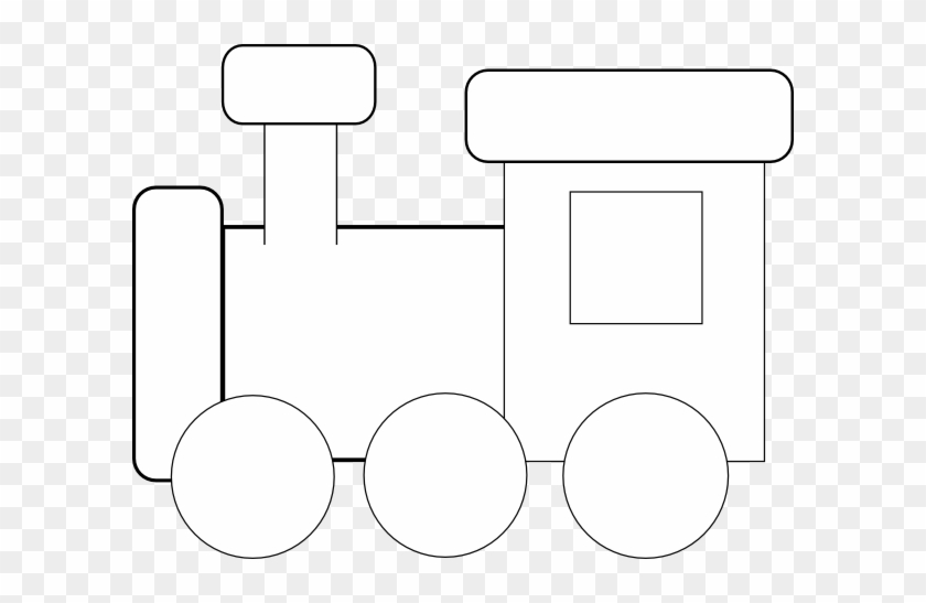 Train Caboose Clipart Clip Art Library - Train Black N White Clipart #12361