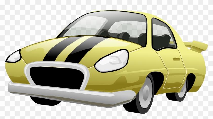 Fast Cool Car - Car Cartoon Png #12365