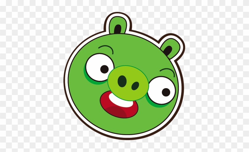 Angry - Green Pig From Angry Birds #12405