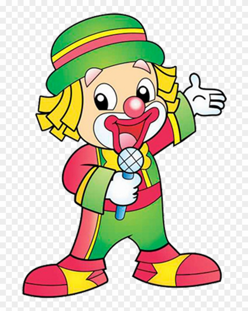 Funny Baby Clown Images Are Free To Copy For Your Personal - Patati Patata Desenho Png #12444
