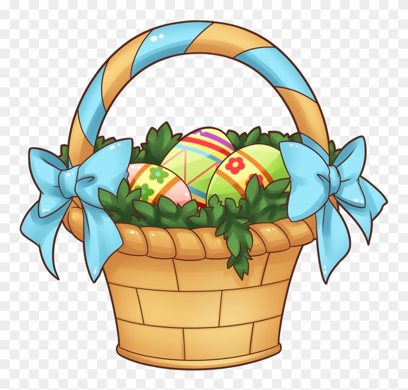 Fruit Basket Clipart Free Download Clip Art On - Easter Basket Clip Art #12454