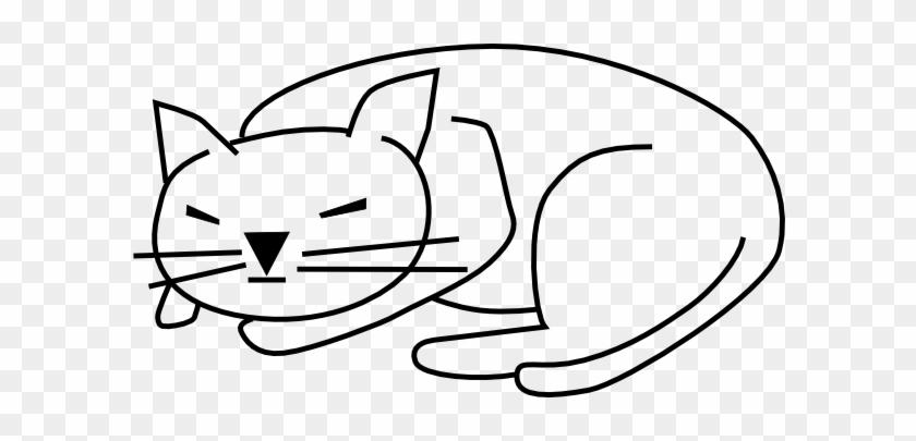 Can't Sleep Cliparts - Cat Clip Art #12450