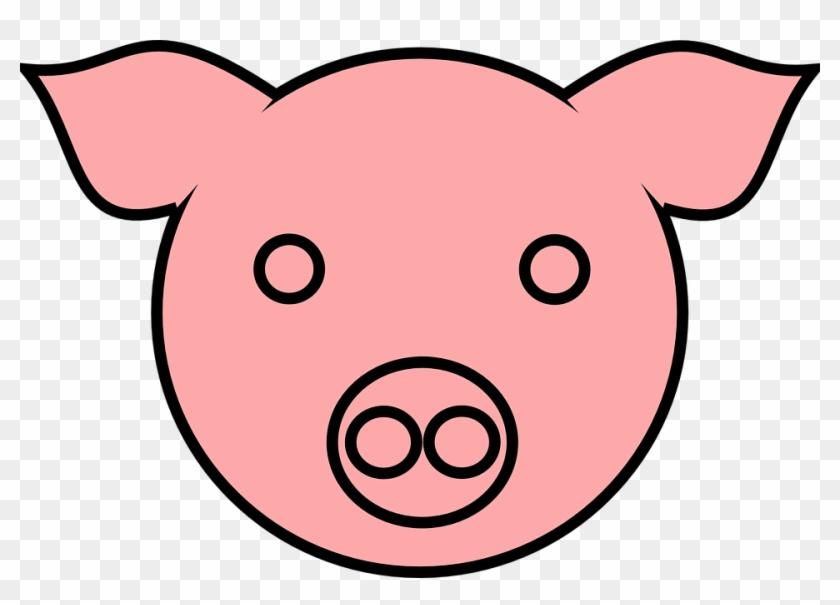pig 9 clip art pig face drawing free transparent png clipart rh clipartmax com cartoon pig face clip art