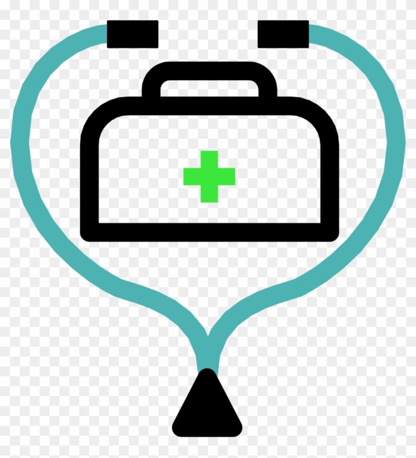 Stethoscope Clipart Border Stethoscope Clipart Stethoscope - Doctor Bag Clipart #12469