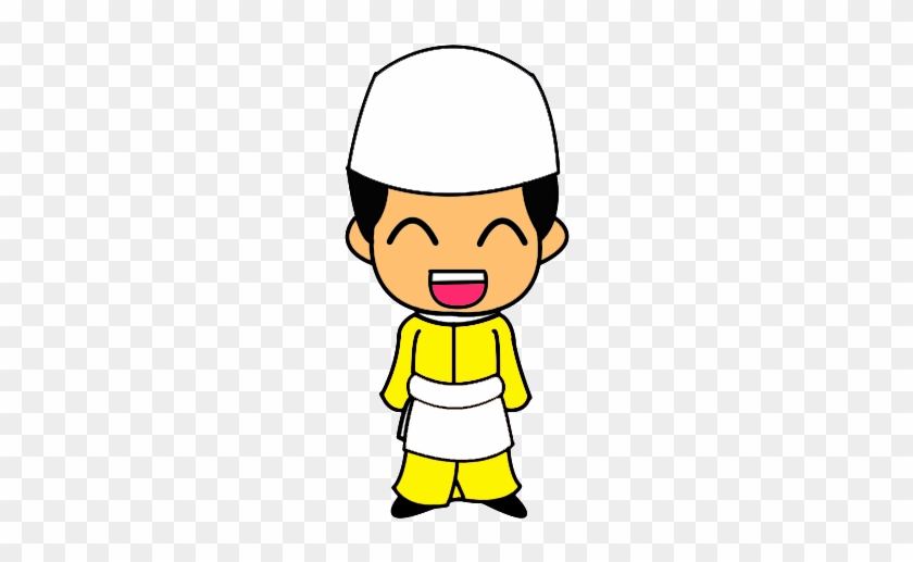 More From My Site - Muslim Boy Doodle Png #12472
