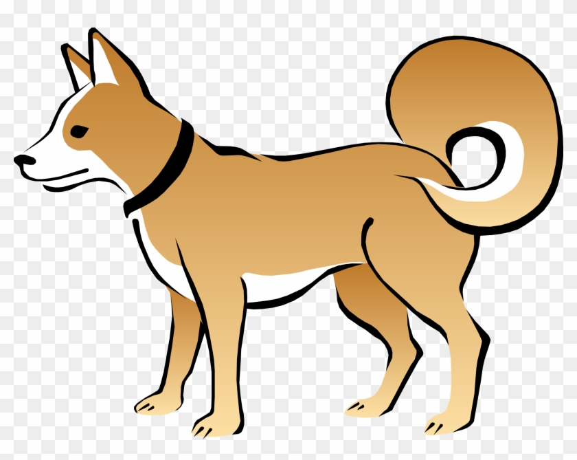 Dog Vector - Clipart Library - Scared Sad Dog Clipart #12479