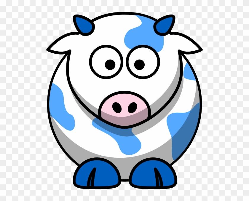 Draw Cartoon Cow #12490