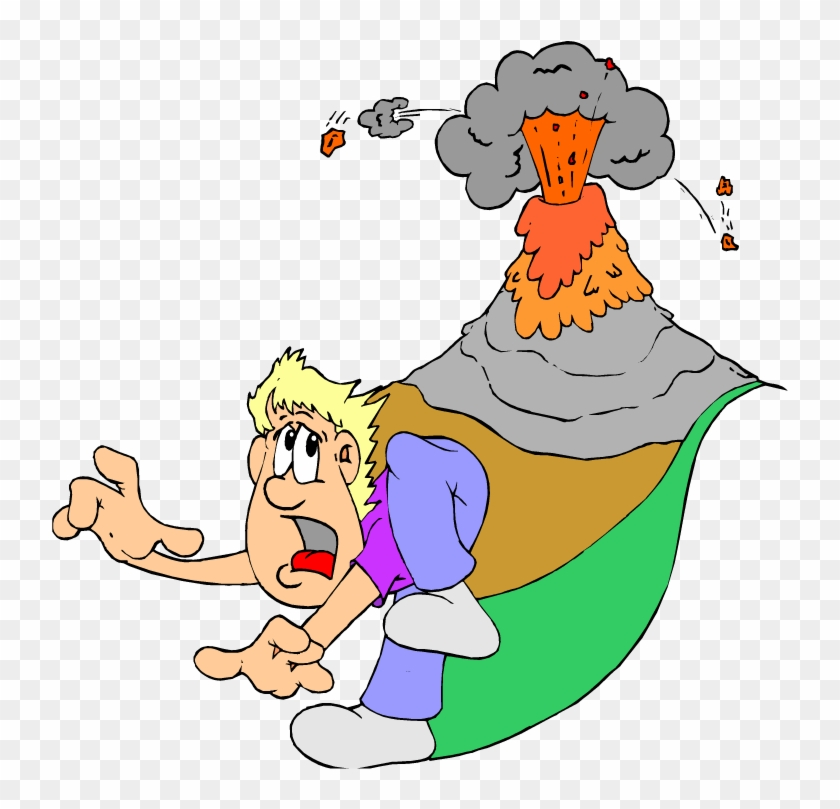Volcano Clip Art Free Free Clipart Images - During Volcanic Eruption Clipart #12494