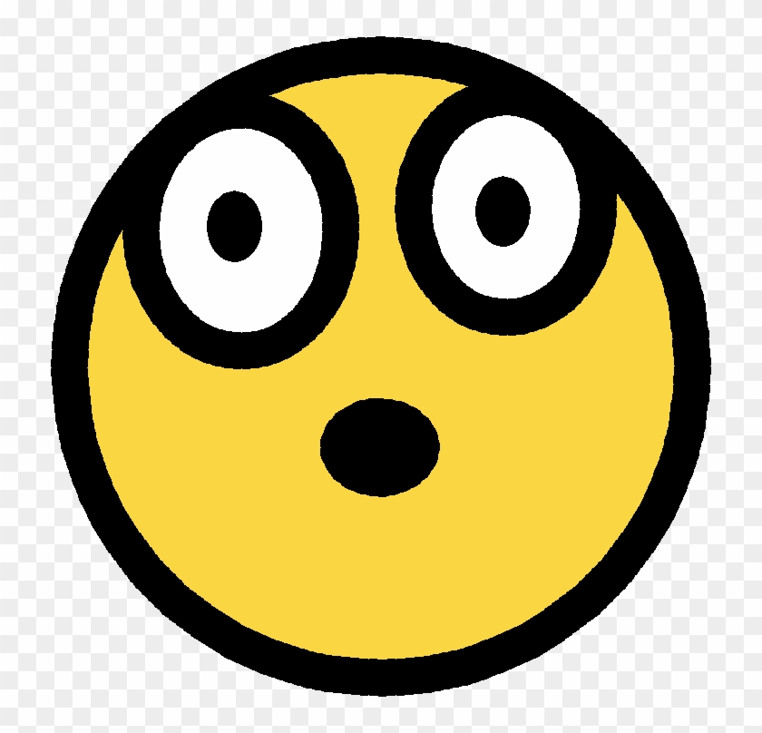 Free Shocked Smiley Face Clip Art Personal Safety Training - Circle #12530