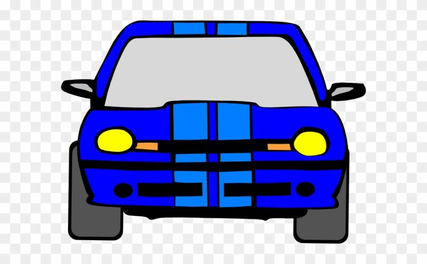 Blue Car Clip Art Clipart - Big Car Clipart #12527