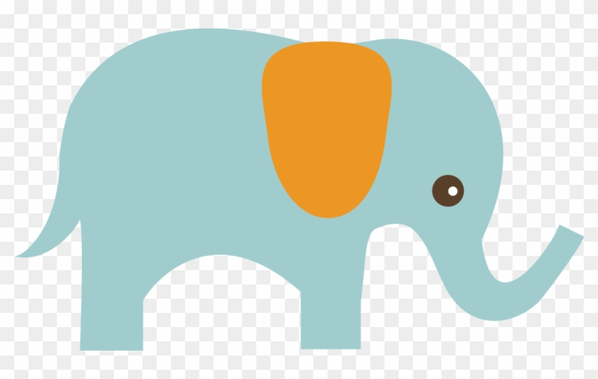 "Peter's ""little"" Secret - Cute Elephant Clip Art #12531"