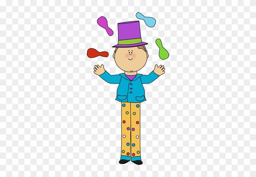 Cute Clipart Circus - Juggler Clip Art #12532