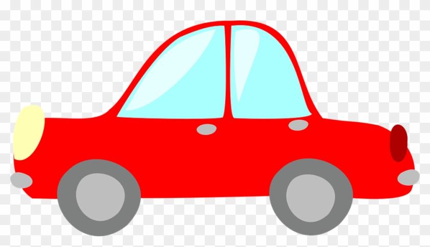 Red Car Clipart Redcar Clip Art At Clker Com Vector - Clip Art Red Car #12533