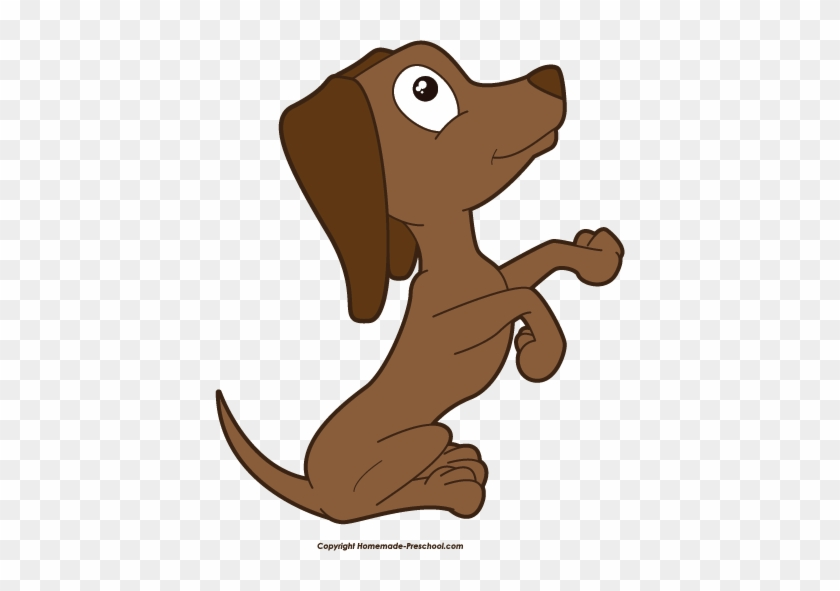 Puppy Top Dog Clip Art Free Clipart Image - Dog Begging Clipart Transparent #12567