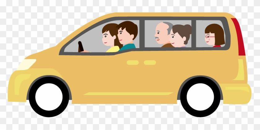 Car Clipart Family Car - Family In Car Clip Art #12566