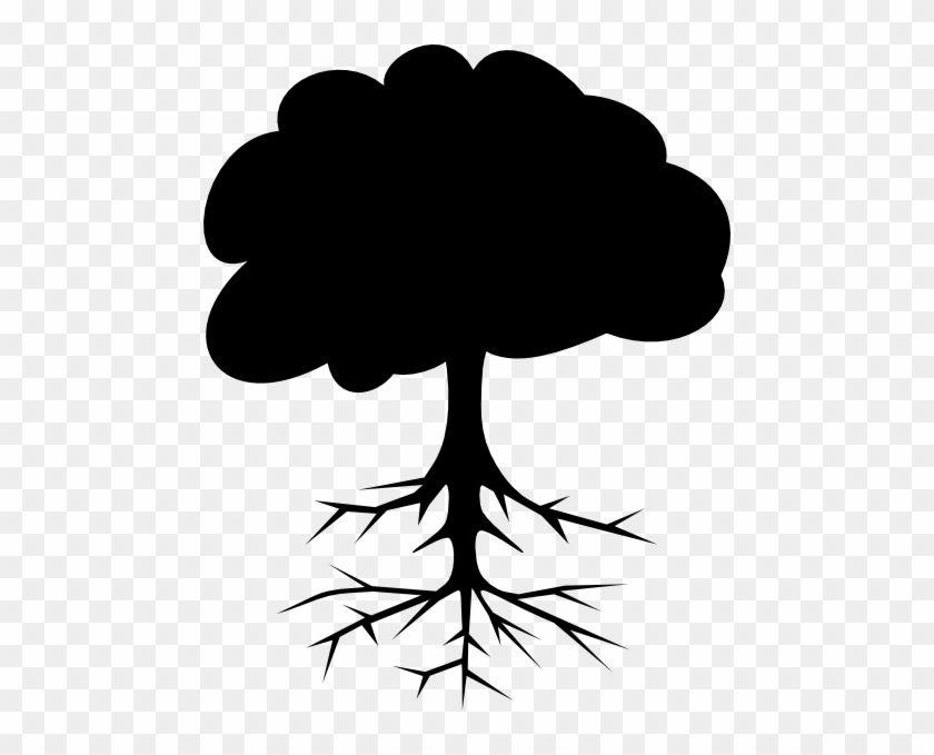 Black Tree Clip Art - Clip Art Black Tree #12602