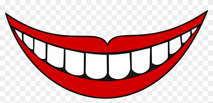 Smiley Face Clip Art - Smile Mouth #12615