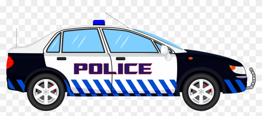 Police Car Transparent Clip Art Image Clipartix Clipart - Transparent Background Car Clipart #12628