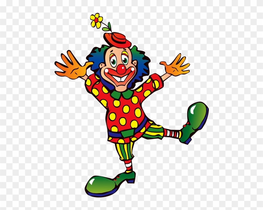 Cartoon Clown Clipart - Cartoon Clowns #12638