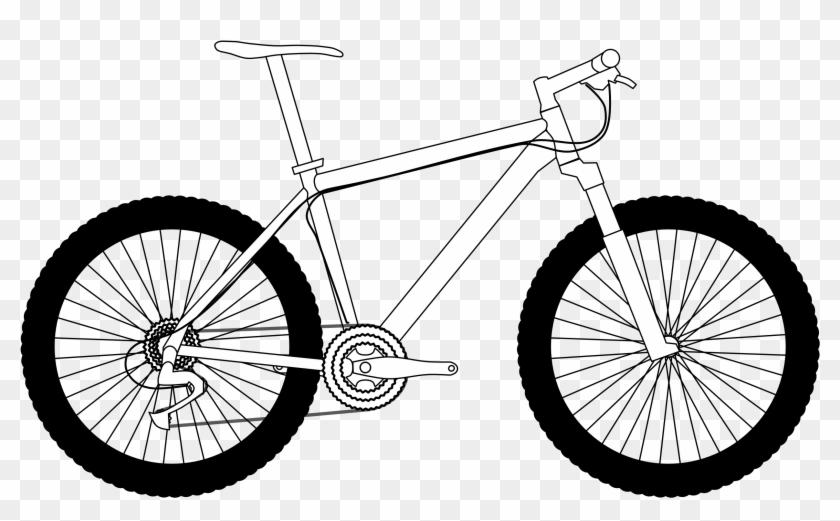 Bicycle Bike Clipart 6 Bikes Clip Art 3 2 6 Clipartcow - Trail Hardtail Mountain Bike #12644
