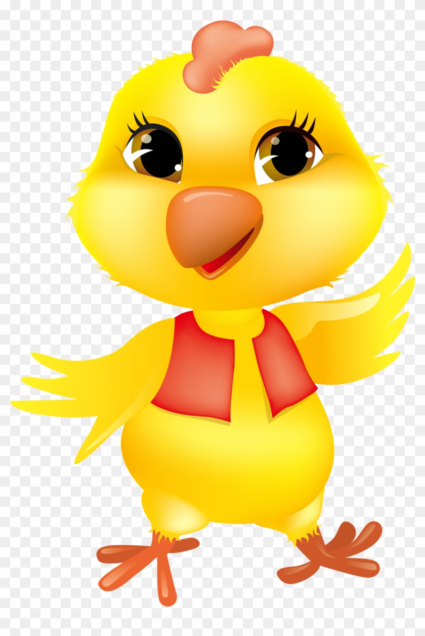 Chicken Egg Clipart Chick Clipart Brown Egg Clip Art - Easter Chick Png #12674