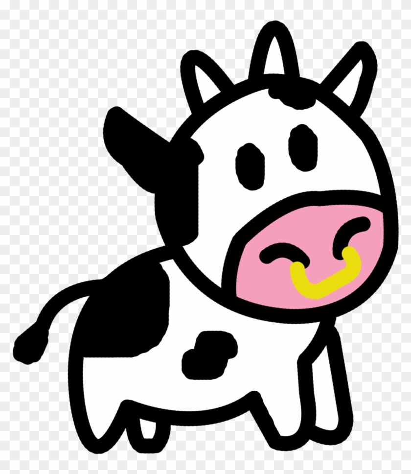 Cartoon Cow Cartoonw Images Free Download Clip Art - Cute Cow Transparent #12661