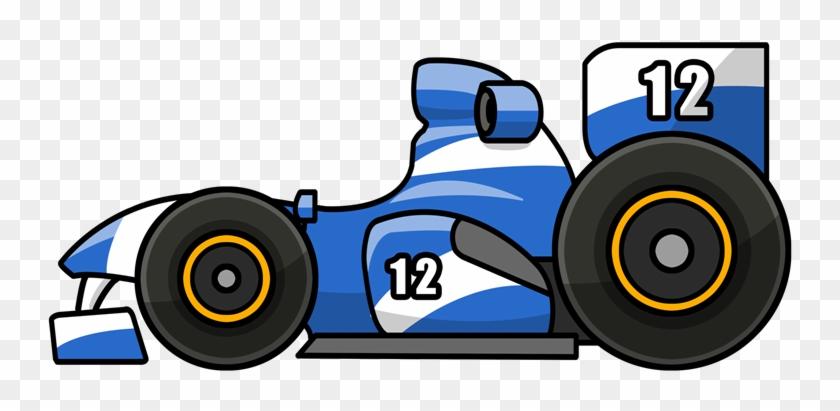 Race Car Free To Use Clip Art - Cartoon Racecar Transparent #12672