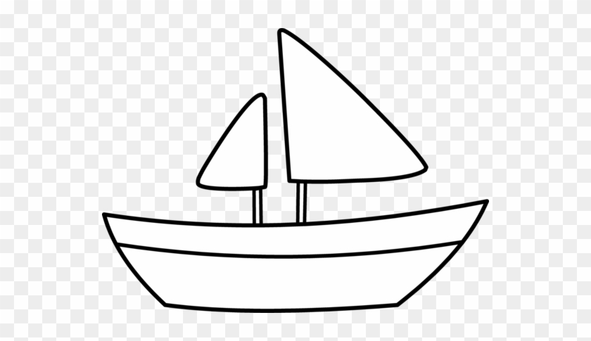 Blue Boat Clip Art Vector Clip Art Free Clipartcow - Outline Picture Of Boat #12676